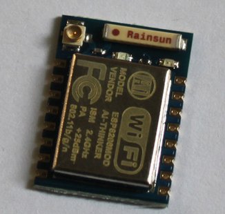 WiFi RS232 AT modul ESP8266 2,4GHz SoC SMD